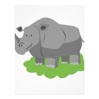 animal in green garden letterhead