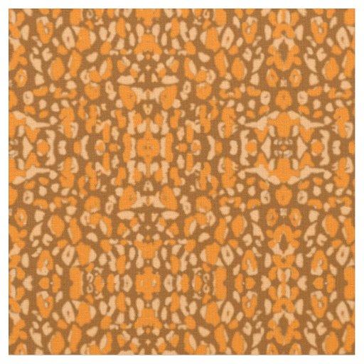 Animal inspired print fabric