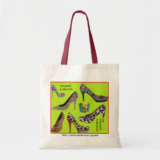 Animal Instincts tote bag