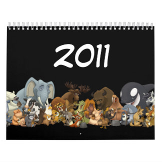 Animal Jug Bad Calendar (2011)