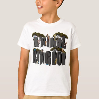 Animal Kingdom Logo With Animals, T-Shirt
