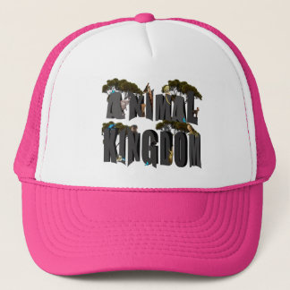 Animal Kingdom Logo With Animals, Trucker Hat