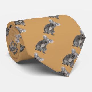 animal koala tie