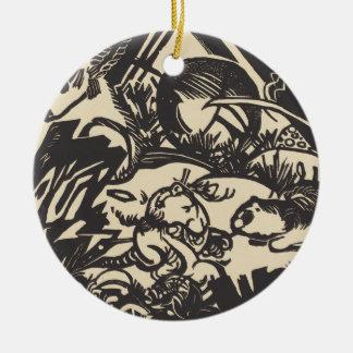 Animal Legend Tierlegende Ceramic Ornament