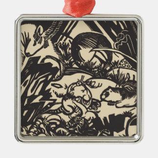 Animal Legend Tierlegende Metal Ornament
