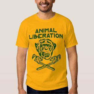 Animal Liberation t-shirt Green