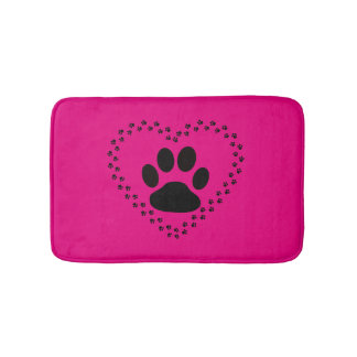 Animal love bathmat