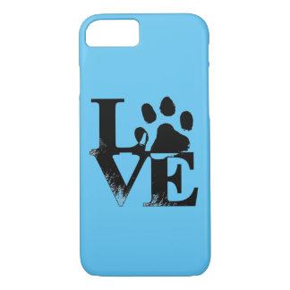 Animal Love Paw Print Phone Case