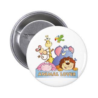 Animal Lover Pinback Button