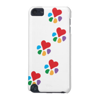 Animal Lover_Heart-Paw_footprints iPod Touch 5G Case