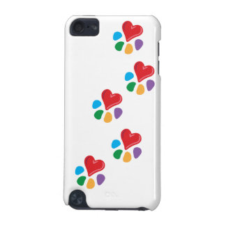 Animal Lover_Heart-Paw (footprints) iPod Touch (5th Generation) Case