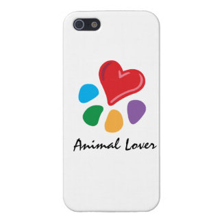 Animal Lover_Heart-Paw_pet themed Case For The iPhone 5