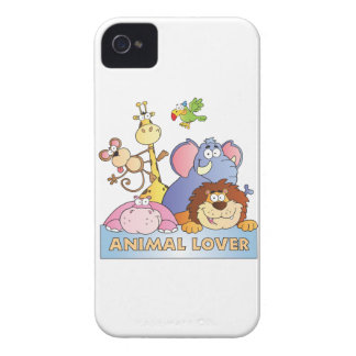 Animal Lover iPhone 4 Case-Mate Case