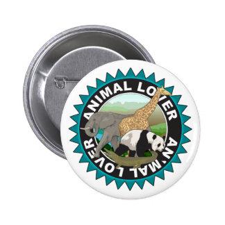 Animal Lover Logo Pins