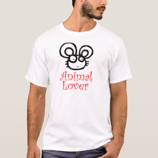 Animal Lover Mouse T-Shirt