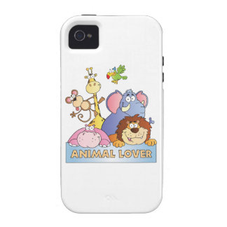 Animal Lover Vibe iPhone 4 Cover
