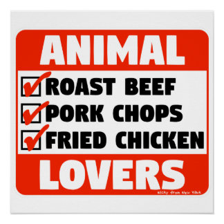 ANIMAL LOVERS POSTER