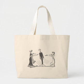 Animal Magnetism - (More Colors Large Tote Bag