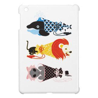 Animal megaphone…Fish cat woman (ANIMAL MEGAPHONE Cover For The iPad Mini