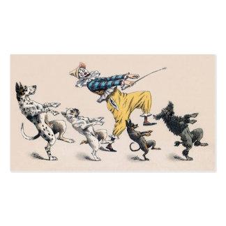 Animal or Dog Trainer Clown Dance Teacher Business Card