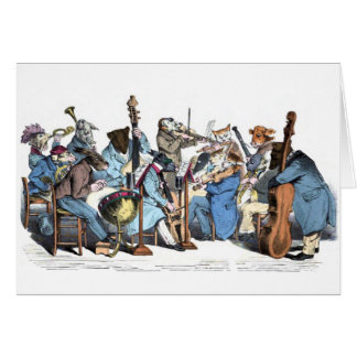 Animal Orchestra Card