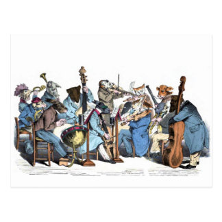 Animal Orchestra Postcard