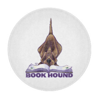 Animal Parade Book Hound Cutting Board