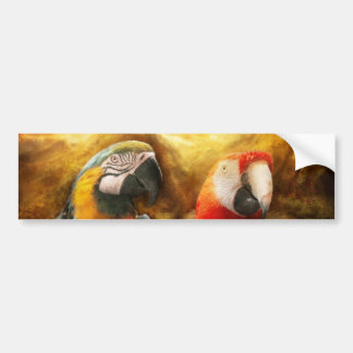 Animal - Parrot - Parrot-dise Bumper Sticker