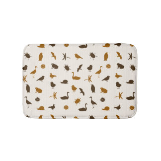 Animal pattern 2 bathroom mat