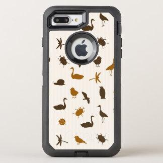 Animal pattern 2 OtterBox defender iPhone 7 plus case