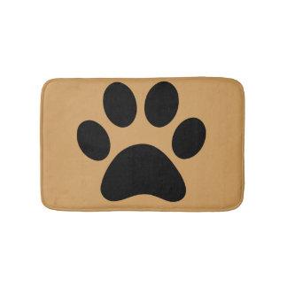 Animal Paw Print Bath Mat