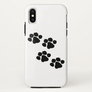 Animal Paw Prints iPhone X Case