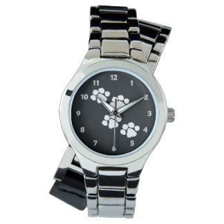 Animal Paw Prints Watch