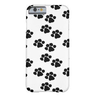Animal Pets Paw Prints Barely There iPhone 6 Case