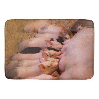 Animal - Pig - Comfort food Bath Mat