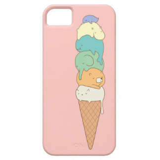 """Animal Pile"" Ice Cream Phone Case Case For The iPhone 5"