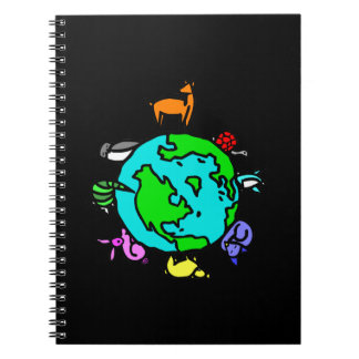Animal Planet Spiral Notebook