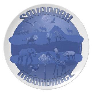 Animal Plate - Savannah Moondance