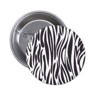 Animal print 2 inch round button