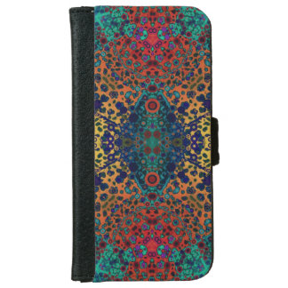 Animal Print Abstract iPhone6 Wallet Case