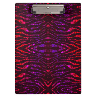 Animal Print Abstract Pattern Premium Clipboard