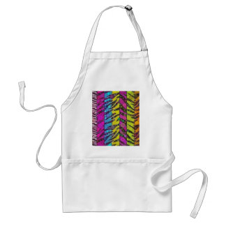 Animal Print Abstract Standard Apron