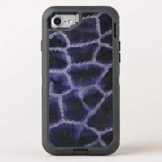 Animal Print Blue OtterBox Defender iPhone 7 Case