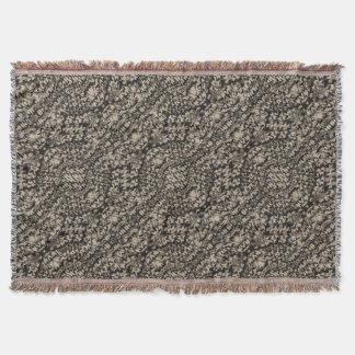 Animal Print Camo Pattern Throw Blanket