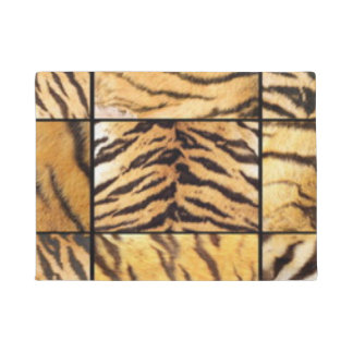 Animal Print Collage Doormat