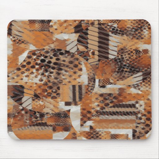Animal Print Collage Mousepad