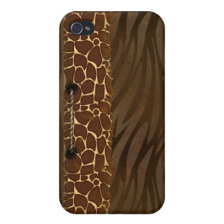 Animal Print Cover For iPhone 4