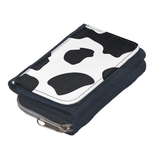 Animal Print Cow Wallet