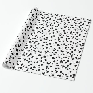 Animal Print Dalmation Wrapping Paper