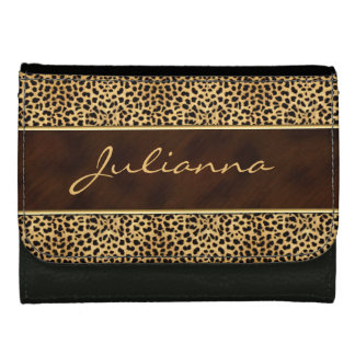 Animal Print in Wild Cheetah Wallet